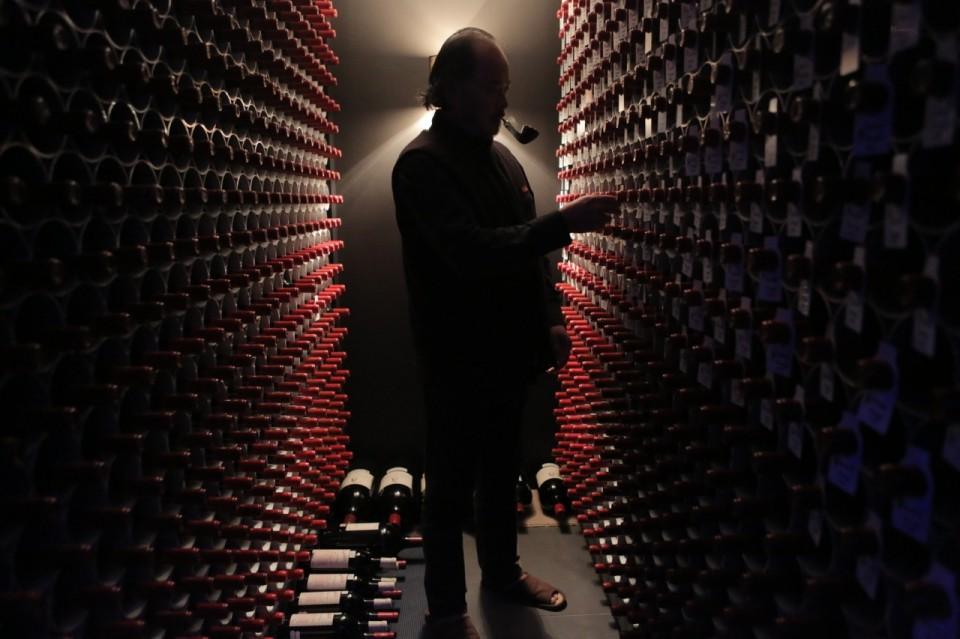 Chiński miliarder w swojej piwnicy. © Materiały organizatora