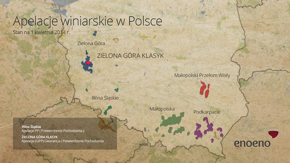 Apelacje winiarskie w Polsce