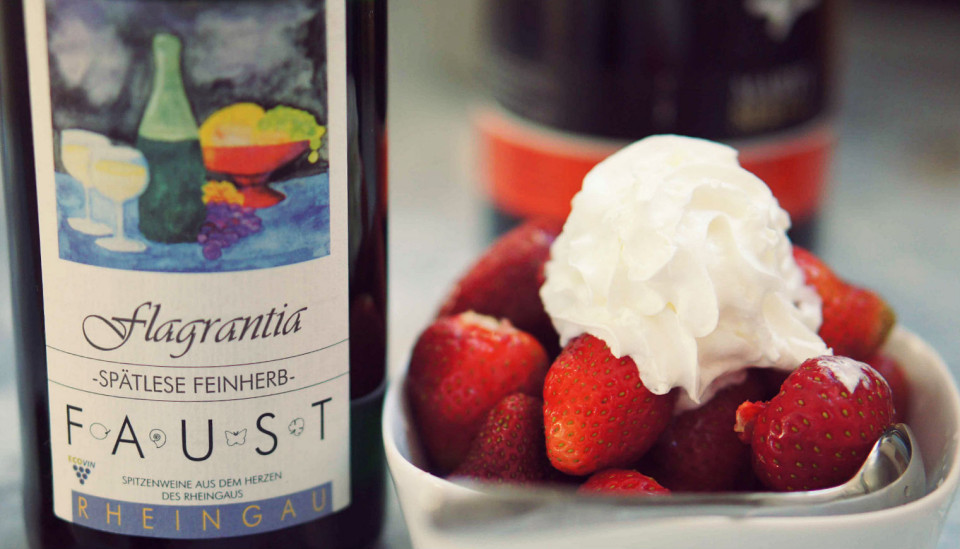 riesling&strawberries