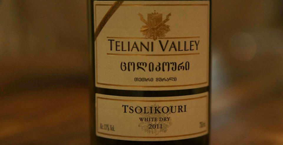 Teliani Valley Tsolikouri