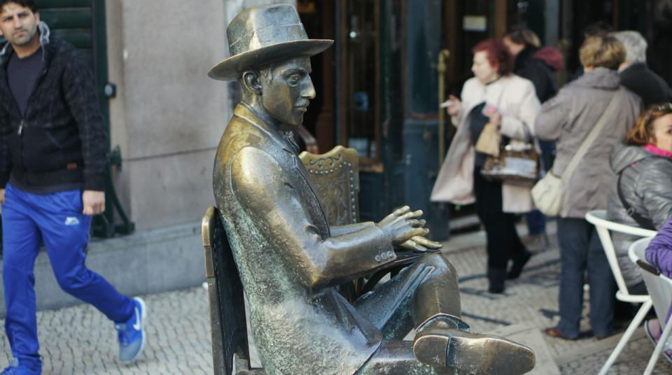 Fernando Pessoa Lisbon