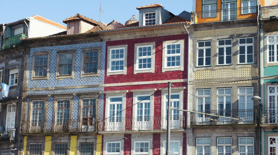 Porto buildings