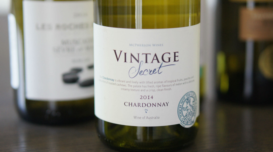 McPherson Vintage Secret Chardonnay