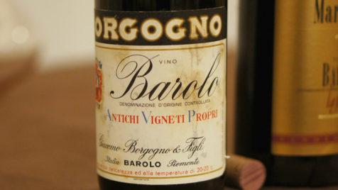 Borgogno Barolo Riserva 1964